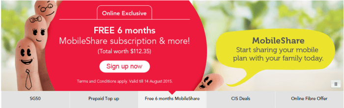 read about the Singtel offer