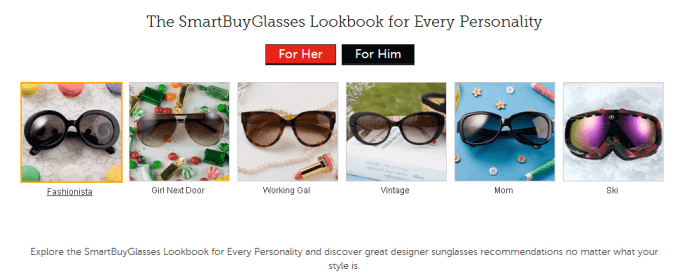 Glasses for every personality