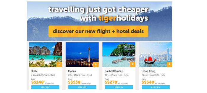 Tiger Airways Package Tour