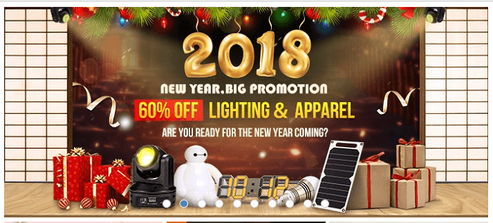 Find great promotions in 2018