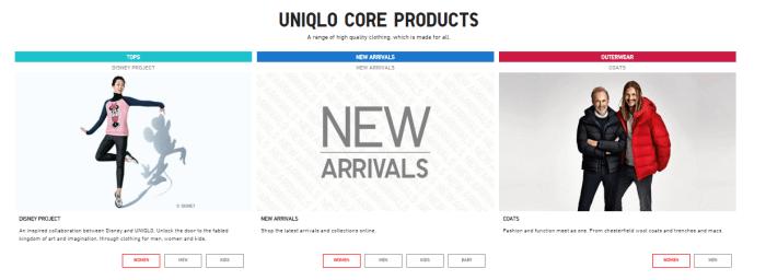 Uniqlo Products