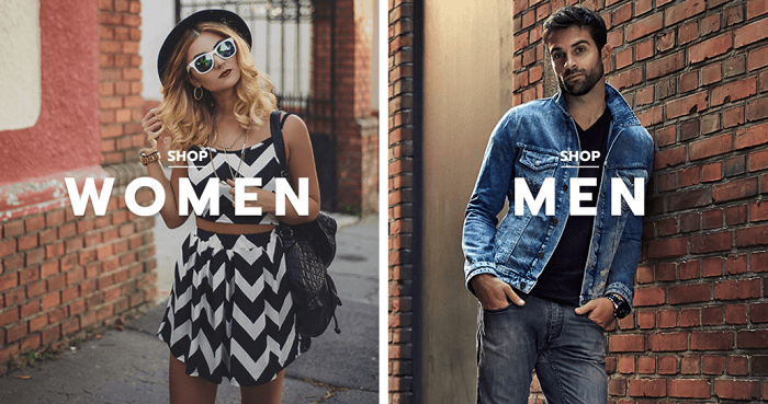 Fashion for men and women