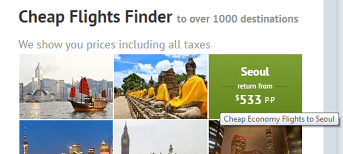 Zuji cheap flights finder