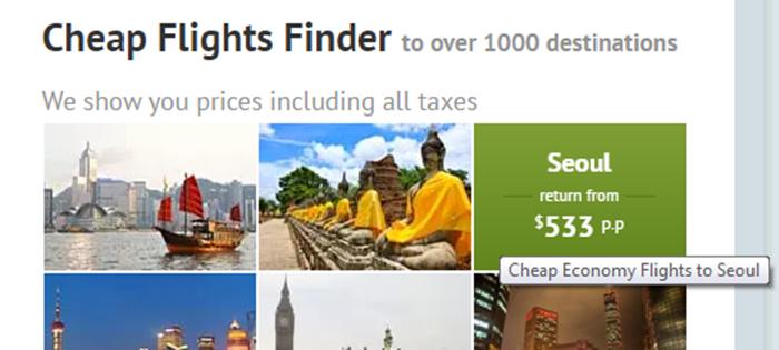 Zuji cheap flights finder