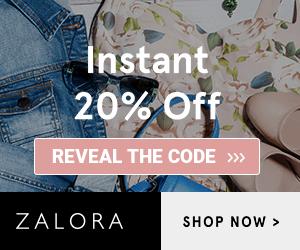 Zalora Promo Code: 20% OFF