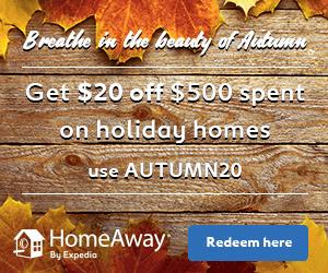 $20 Off HomeAway Promo Code