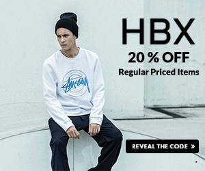 Only on Picodi: 20% Off HBX Code