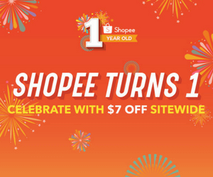 Celebrate Shopee's 1st Birthday!