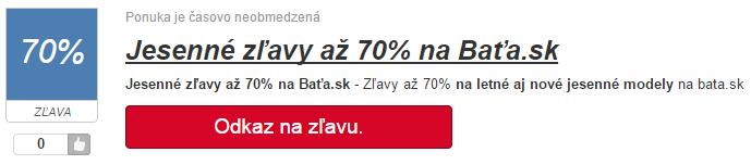 Zľava na bata.sk