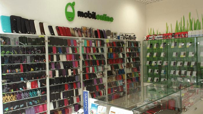 Interiér jednej z 25. predajní na Slovensku