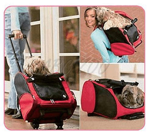Často cestujete? Preneste svojho obľúbenca kdekoľvek s originálnou multifunkčnou taškou