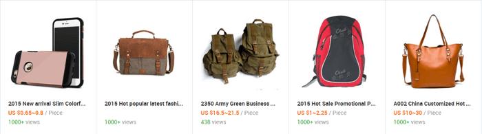 Potrebujete tašku, ruksak alebo kabelku? Stačí kliknúť na alibaba.com...