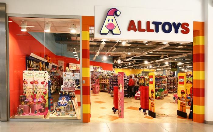 V kamennej predajni osloví ratolesti široký výber hračiek rôznych druhov