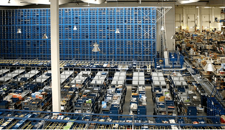 logistické centrum alza