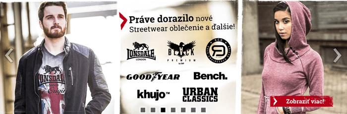 Vyberte si z ponuky streetwear oblečenia od tých najlepších výrobcov