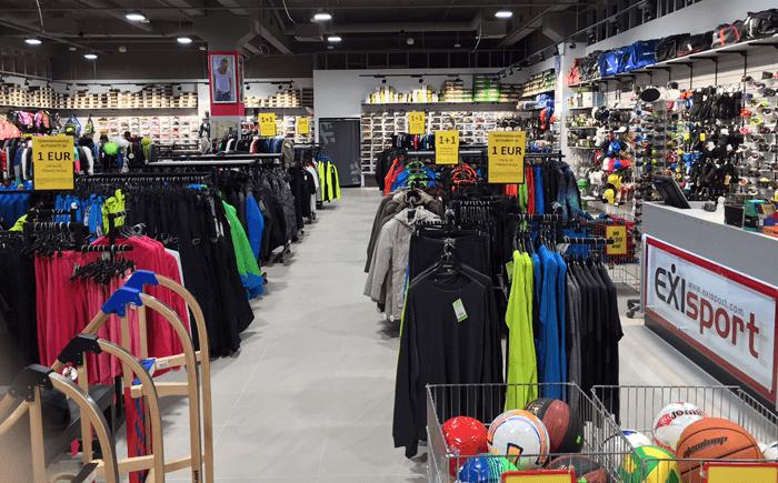 EXIsport je najväčšia slovenská sieť predajní so šport fashion a športovými potrebami