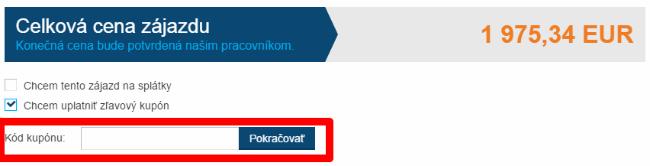 Ako použiť zľavový kód na invia.sk