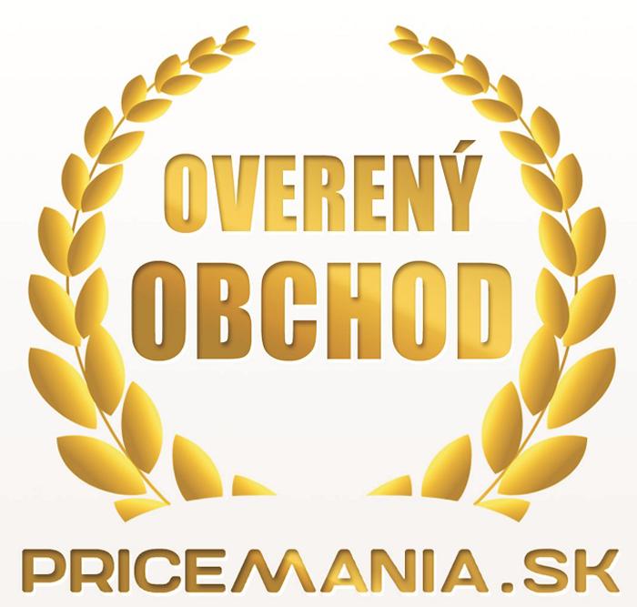 Overený zákazníkmi, to potvrdzuje i portál www.pricemania.sk