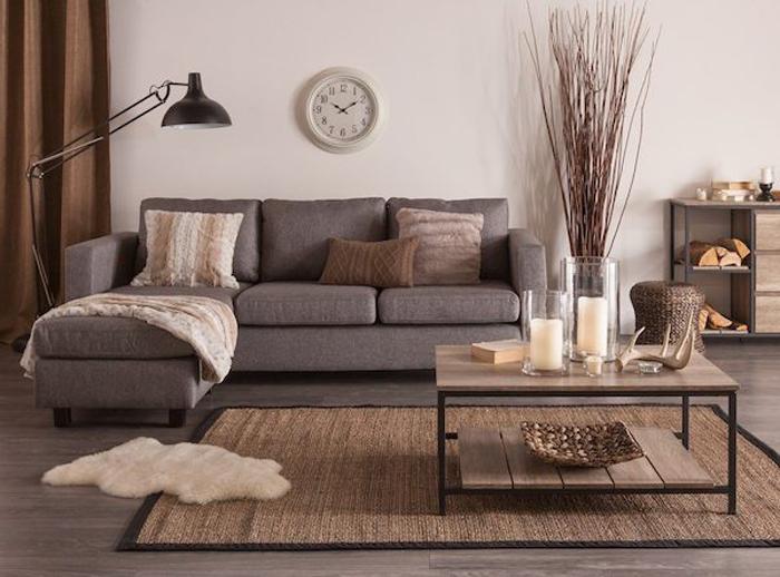 Moderný, dizajnový a farebne zladený nábytok s okolím osvieži prostredie každej obývačky