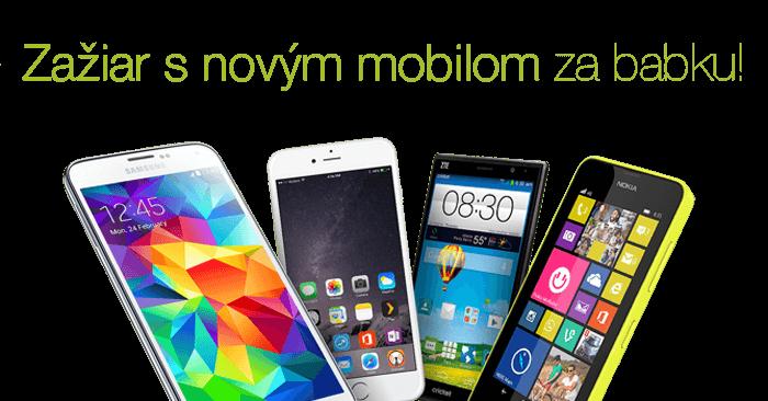 Novinky zo sveta mobilov kúpite za výhodné ceny
