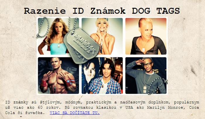 Inšpirujte sa armádou a nechajte si vyraziť svoju vlastnú a originálnu ID známku