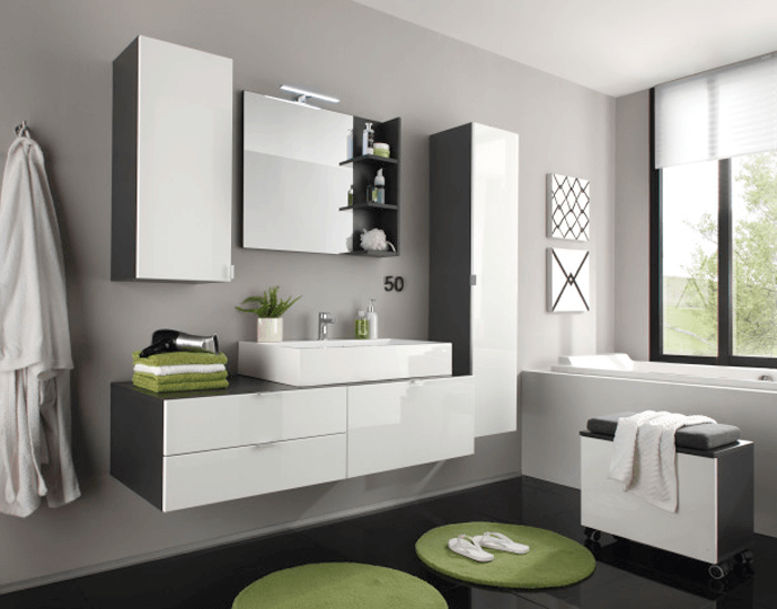 Moderný dizajn a dokonalé zladenie farieb spríjemní čas strávený vo vašej kúpeľni
