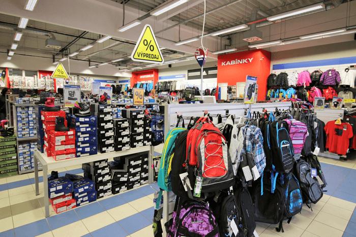 Na Slovensku nájdete 29 kamenných predajní so značkou Sportisimo