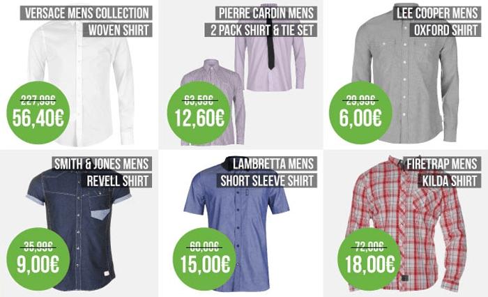 Potrebujete novú trendy košeľu a IN oblečenie? V Sportsdirecte si vyberiete vždy...