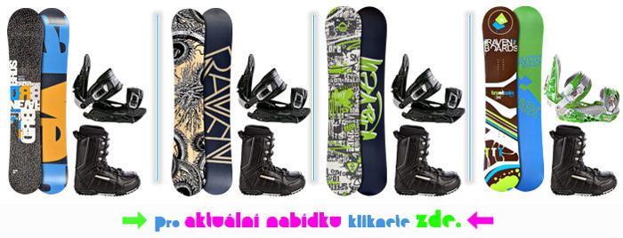 Cez snowboards.sk môžete kúpiť komplet pre snowboading – snowboard, viazanie a topánky