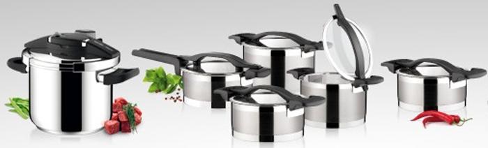 Nová sada kvalitných antikorových hrncov vhodná pre každý druh sporáku (plynový, elektrický, sklokeramický, halogénový aj indukčný)
