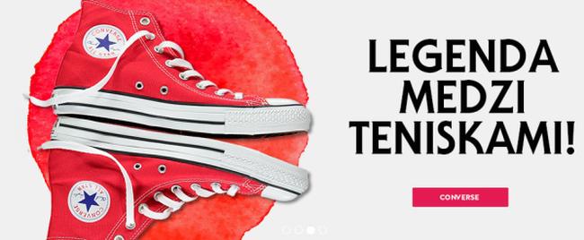 Elegatna moze byt i volnocasova obuv, to je synonymum pre znacku Converse