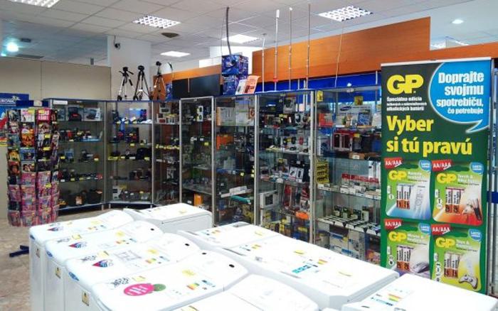 Malá ukážka rôznorodosti tovaru v predajniach TPD Euronics