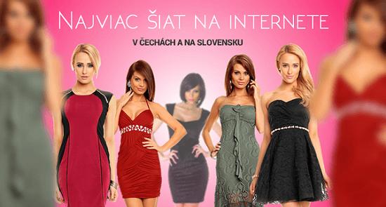 Vasa-moda.sk ponúka najväčší výber šiat spomedzi e-predajcov na Slovensku i v Čechách
