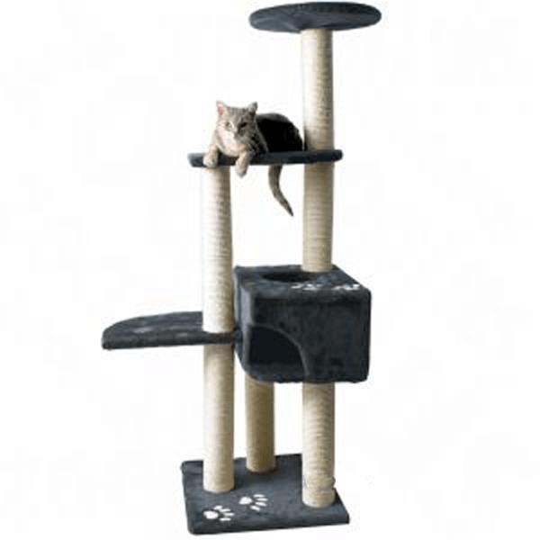 Čo tak strom na lezenie a hranie pre mačku? Doprajte svojmu miláčikovi zábavu...