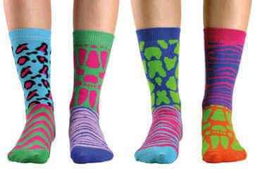 Farebné ponožky zoot
