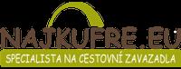 zľavové kódy NajKufre.eu