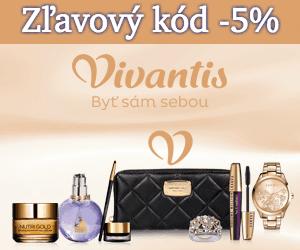 Zľavový kód -5% na vivantis.sk