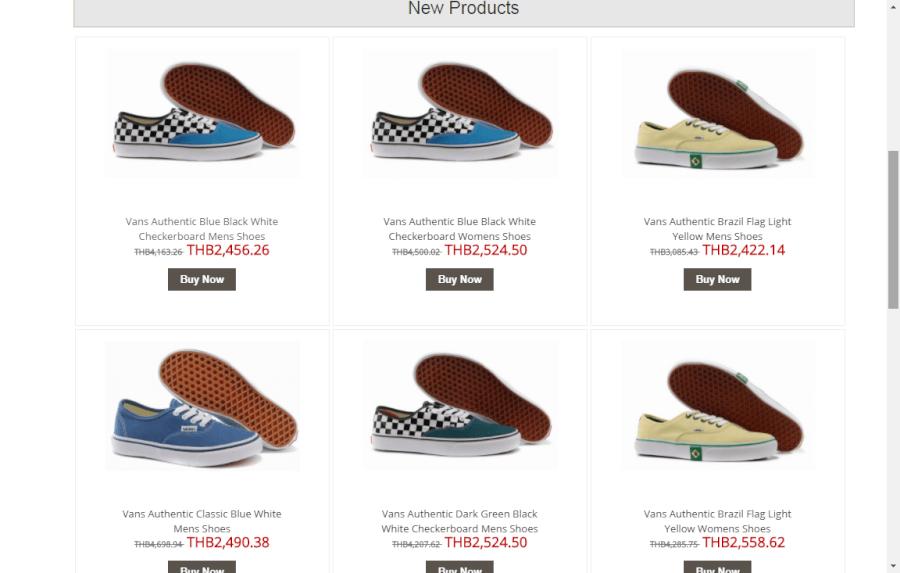 รองเท้า Vans Thailand