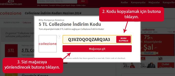 Collezione İndirim Kodları