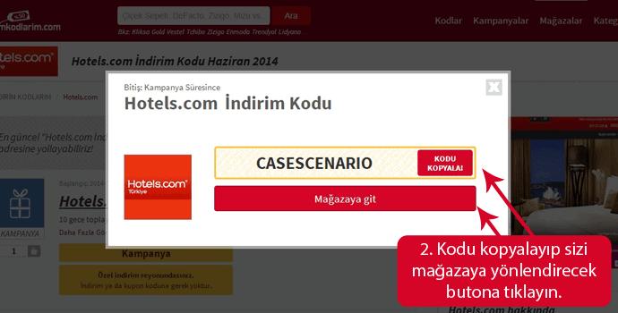 Hotels.com İndirim Kodu
