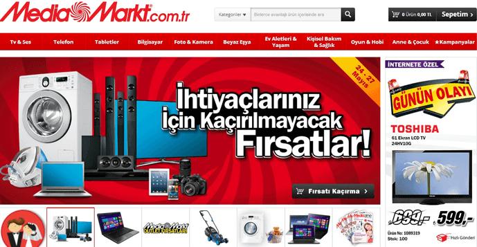 Media Markt Kampanya Sayfası