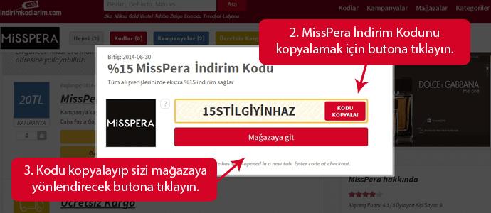 MissPera Kupon Kodu
