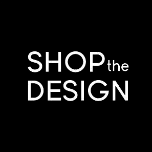 shop the design logo