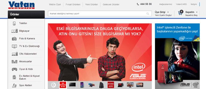Vatan Bilgisayar Kampanya Sayfası