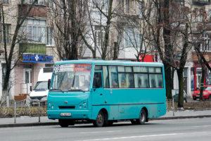 Маршрутка в Борисполь