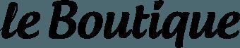 Интернет-магазин Le Boutique — логотип