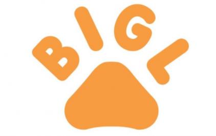 логотип бигль