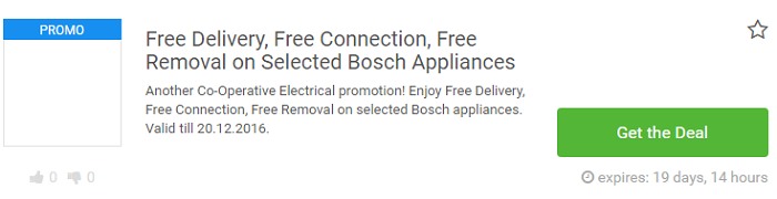 Co-Operative Electrical deals at Picodi