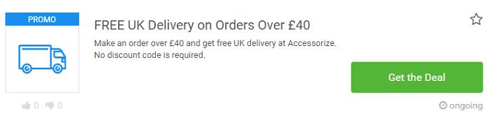 Accessorize deals