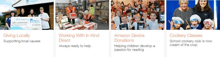 Amazon charity